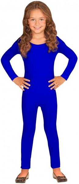 Body enfant manches longues bleu