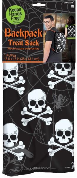 Gruseliger Totenkopf Turnbeutel Nightmare 35 X 43,1cm