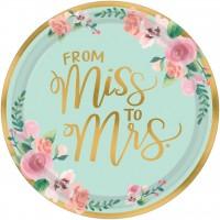 8 Miss to Mrs Teller 27cm