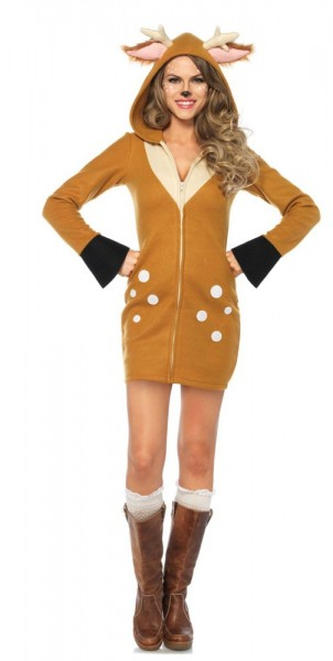 Rehkitz Bambi Damenkleid Deluxe