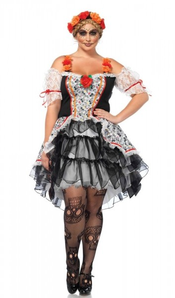 Day Of The Dead Tulle-jurk Lolita