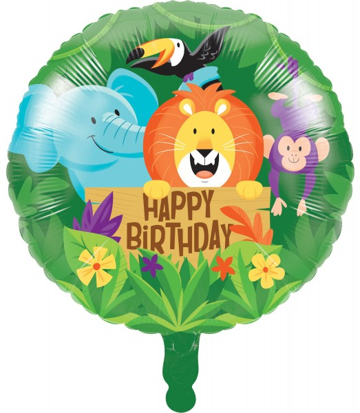 Safari Abenteuer Folienballon 46cm