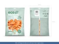 Vorschau: 100 Eco Pastell Ballons pfirsich 26cm