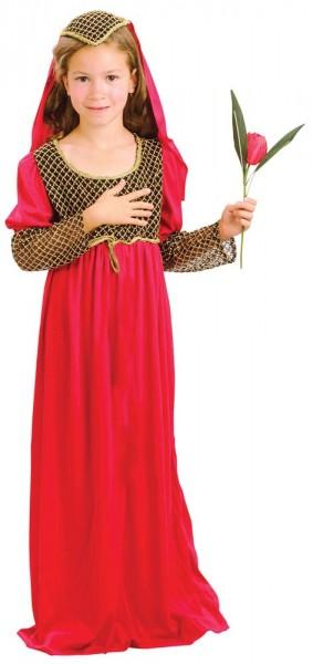 Kleines Burgfäulein Leonore Kleid