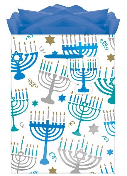 12 sachets cadeaux Happy Hanukkah