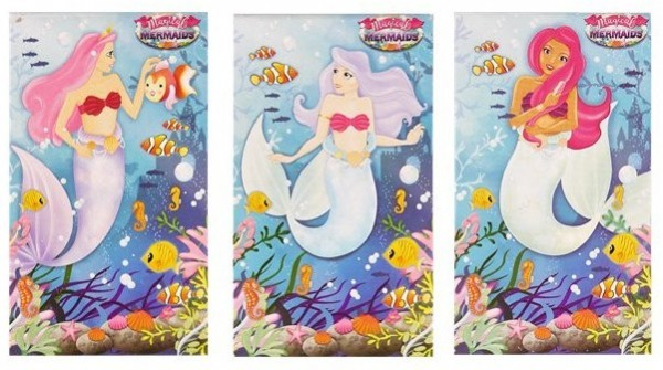 1 mermaid notepad 9.3 x 5.5cm