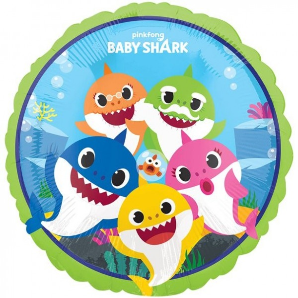 Baby Shark Folienballon 46cm