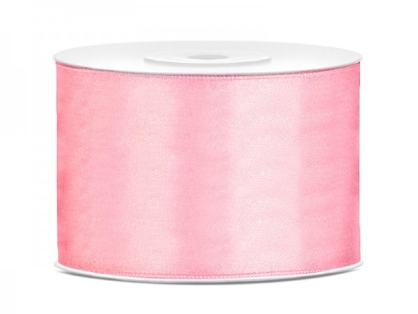 Nastro regalo in raso Candy Pink 5cm x 25m
