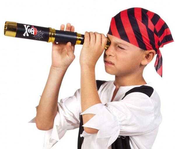 Piraten Seeräuber Fernrohr 32cm