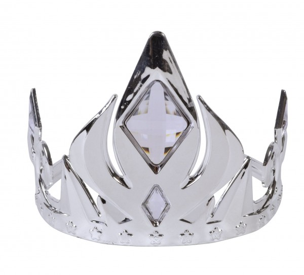 Edle Edelstein Krone Silber