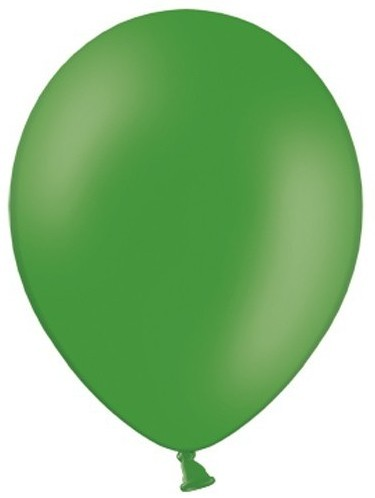100 party star balloons fir green 30cm