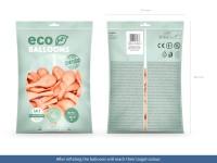 100 Eco metallic Ballons pfirsich 30cm