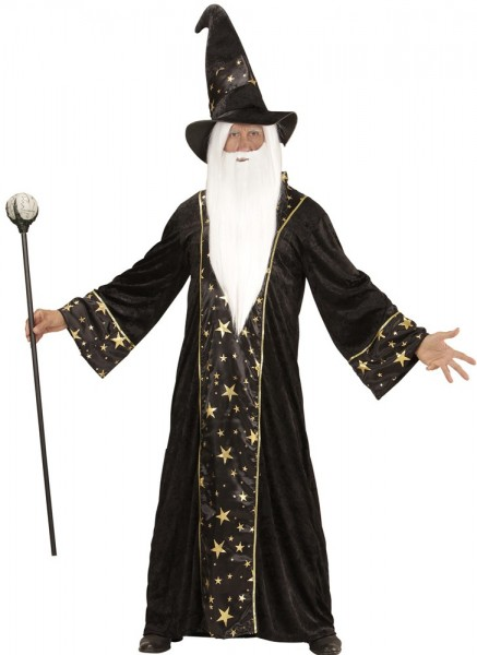 Magician Albrich men's robe with hat