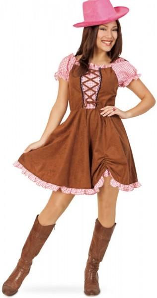 Country Girl Wilder Westen Damenkostüm