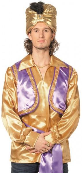 Goldenes Orientalisches Hemd