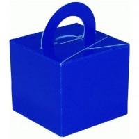 10 Royalblaue Päckchen Ballongewichte