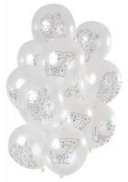 7.Geburtstag 12 Latexballons Origami