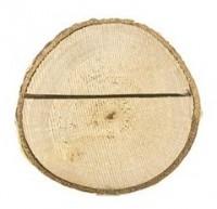 10 Tischkartenhalter aus Holz 3-4cm