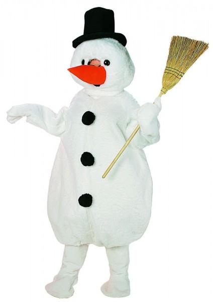 Kids snowman mascot costume