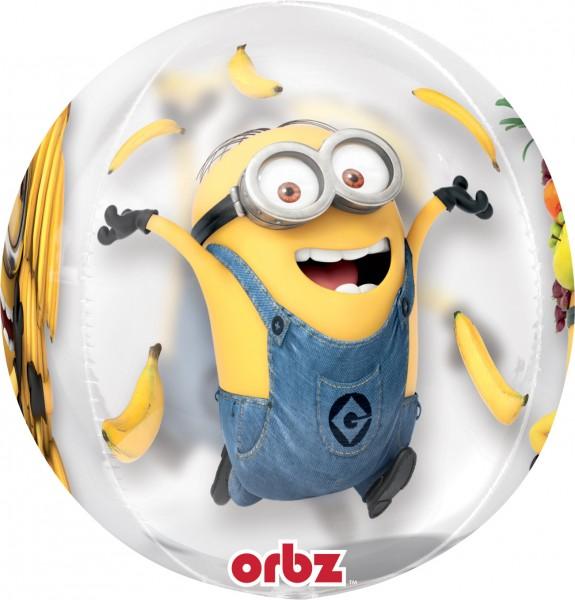 Orbz Ballon Verrückte Minions 40cm