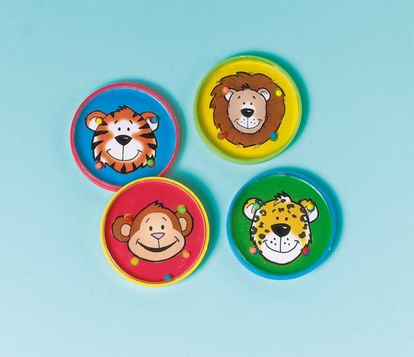 Niedliches Geduldsspiel Mit Zoo Tieren 12 Stück