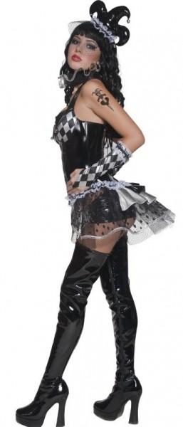 Verführerisches Harlekin Kostüm für Damen