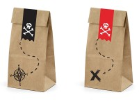 6 Südsee Piraten Geschenktüten