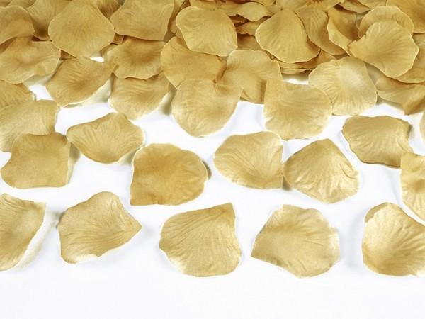 100 Rosenblätter in Gold 1