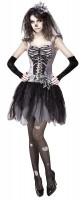 Skelett Kleid Susi für Damen