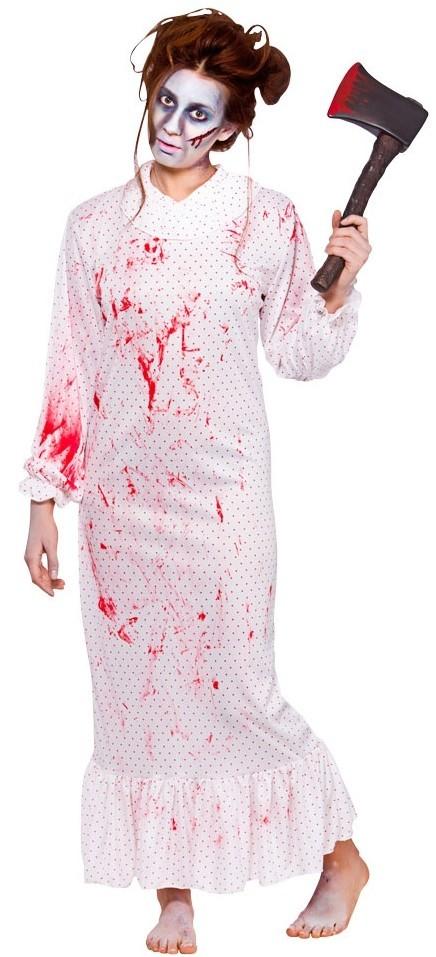 Blutbeflecktes Psycho Nachtkleid | Damen Kostüme | Kostüme | KOSTÜME ...