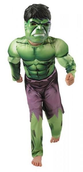 Hulk Muskulöses Kinderkostüm Avengers