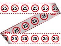 Verkehrsschild 25 Absperrband 15m