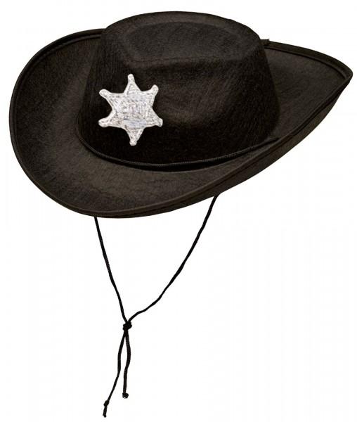 Sheriff Cowboy Hut Für Kinder