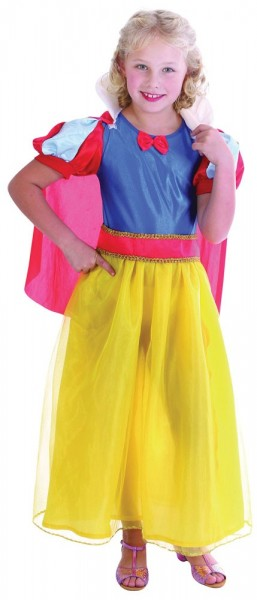 Buntes Snow White Kinderkostüm
