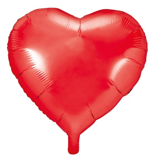 Herzilein foil balloon red 45cm