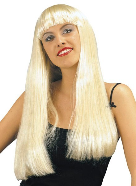 Pony Langhaarperücke Lena Blond