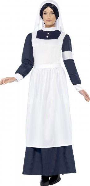 Retro Krankenschwester Damenkostüm