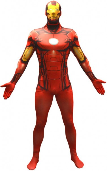Legendary Iron Man Morphsuit Rot
