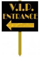 VIP Eingang Schild 38cm
