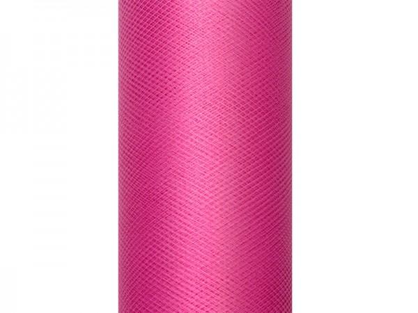 Tüll Stoff Luna pink 20m x 8cm