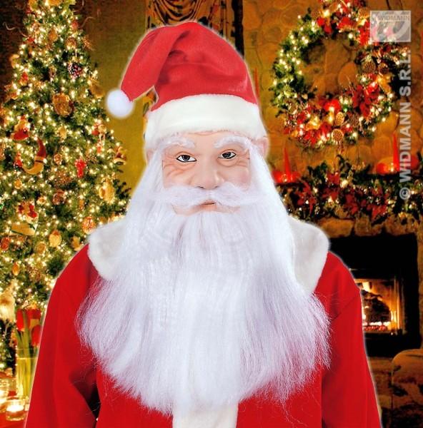 Masque de Père Noël de luxe