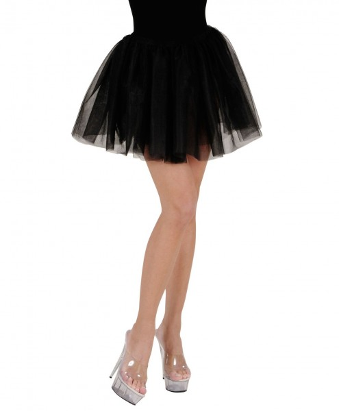 Gonnellina tutu ballerina nero