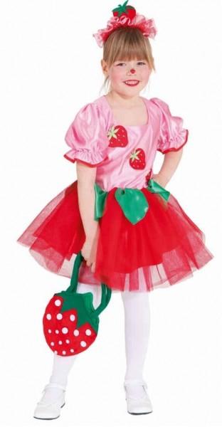 Erdbeere Emily Kinderkostüm