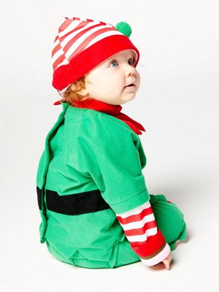 Déguisement Elfe de Noël pour bébé