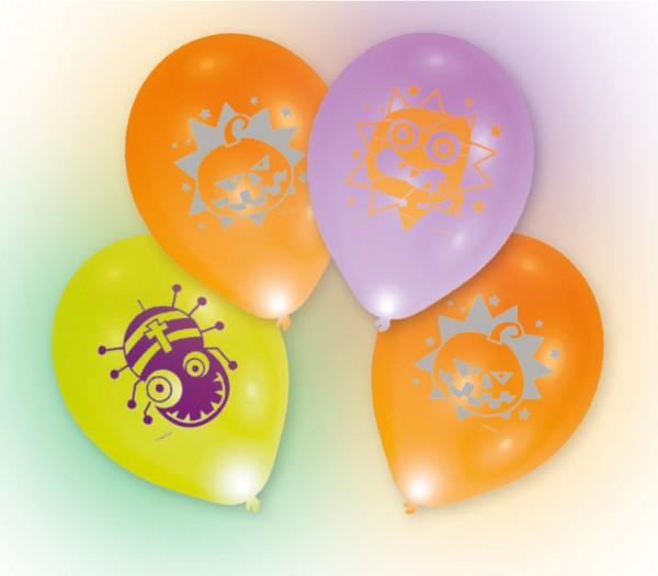 4 Halloween LED-balloner