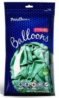 50 Partystar metallic Ballons mint 27cm