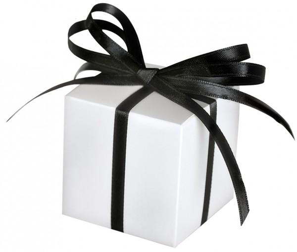 100 Weiße Geschenkboxen Tiffany 1