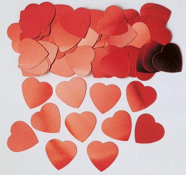 Amor corazón mágico espolvorear decoración 14g