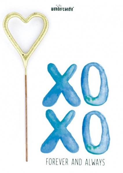 XOXO Forever and Always Wondercard