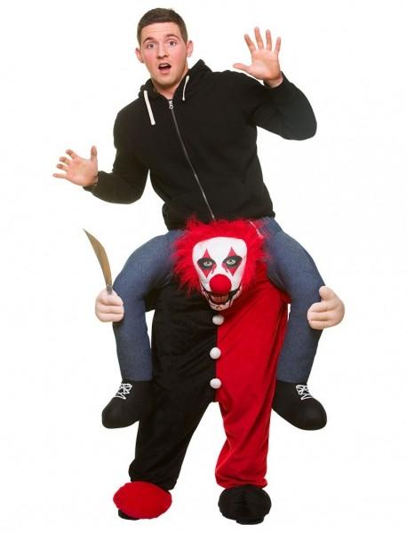 Horror clown Augustin piggyback costume